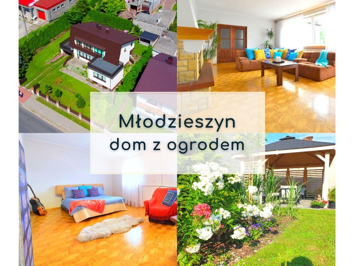 """<span class=""""hpt_headertitle"""">Młodzieszyn – dom z ogrodem na sprzedaż</span>"""