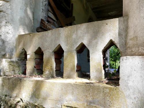 Cygany południowa balustrada foto