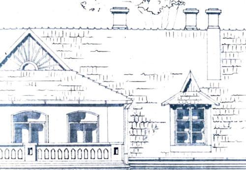 Cygany detal szkic