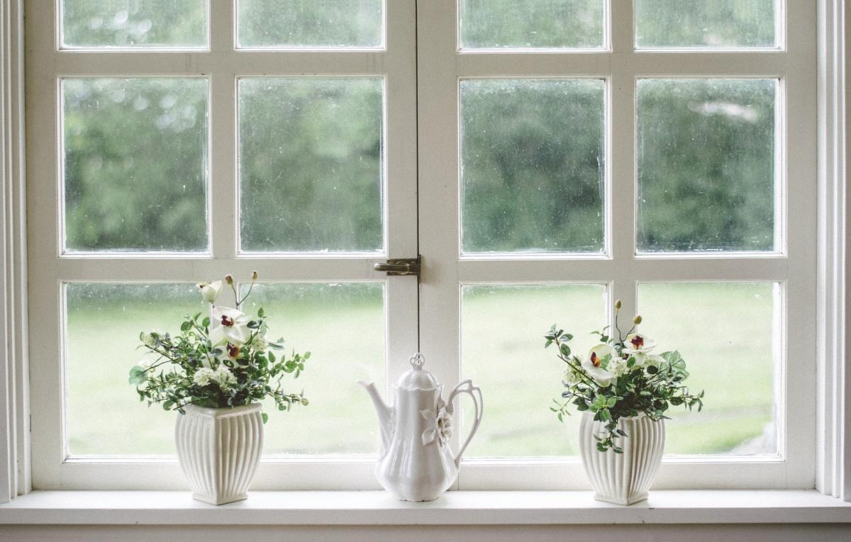 A home window photo